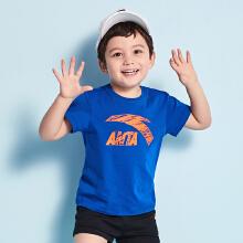 安踏儿童2019新款夏装男童女童婴小童宝宝短袖T恤纯棉打底衫