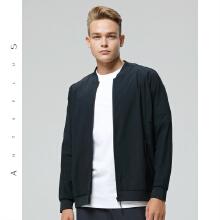 antaplus2019春季新款男子双面弹力运动外套夹克