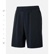 安踏时尚品牌antaplus运动短裤男舒适休闲弹力跑步裤2018秋冬新款