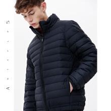 安踏antaplus羽绒服男装 2018冬季新款短款保暖加厚运动外套潮