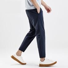 antaplus2019年新款男子运动跑步梭织长裤