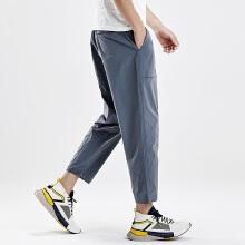 antaplus2019年新款男子宽松吸汗休闲长裤
