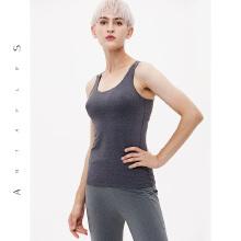 antaplus女瑜伽内衣带胸垫BRA运动背心2019春季新款