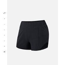 antaplus女子运动短裤轻薄自带内裤二合一2019新款