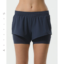 antaplus运动短裤健身短裤瑜伽裤女裤2019春季新款