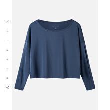 安踏新品牌antaplus女瑜伽服运动上衣长Tt恤2018新款