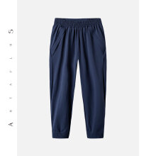 antaplus女运动裤修身休闲运动长裤后背拉链2018新款