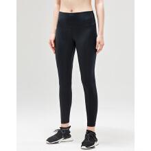 antaplus女子夏季舒适紧身健身瑜伽八分裤