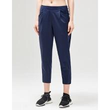 antaplus2019年春季新款女子梭织九分裤长裤
