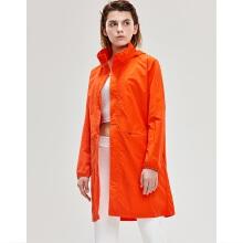 antaplus2019年春季新款长款连帽薄风衣外套