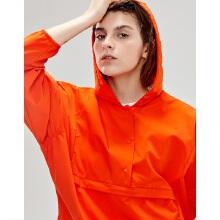 antaplus2019年新款女子连帽短款卫衣