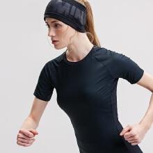 antaplus2019年新款女子健身服瑜伽短T插肩袖网布短袖